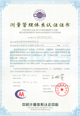 CE certificate of canned motor pump